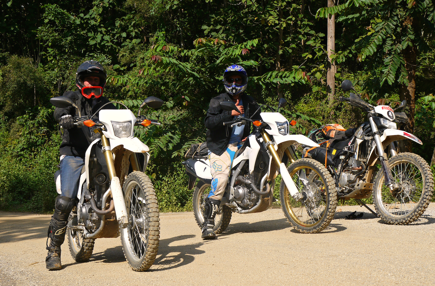 Motorbike tour in Luang Prabang