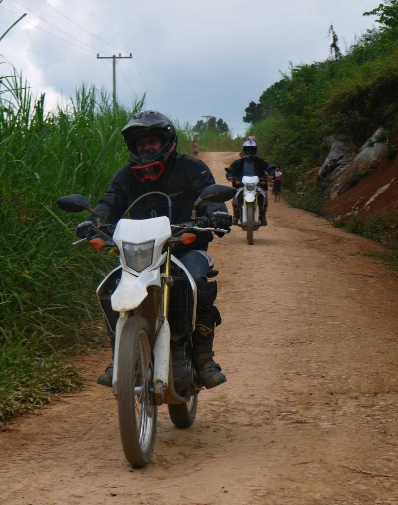 Motorbike tour Luang Prabang