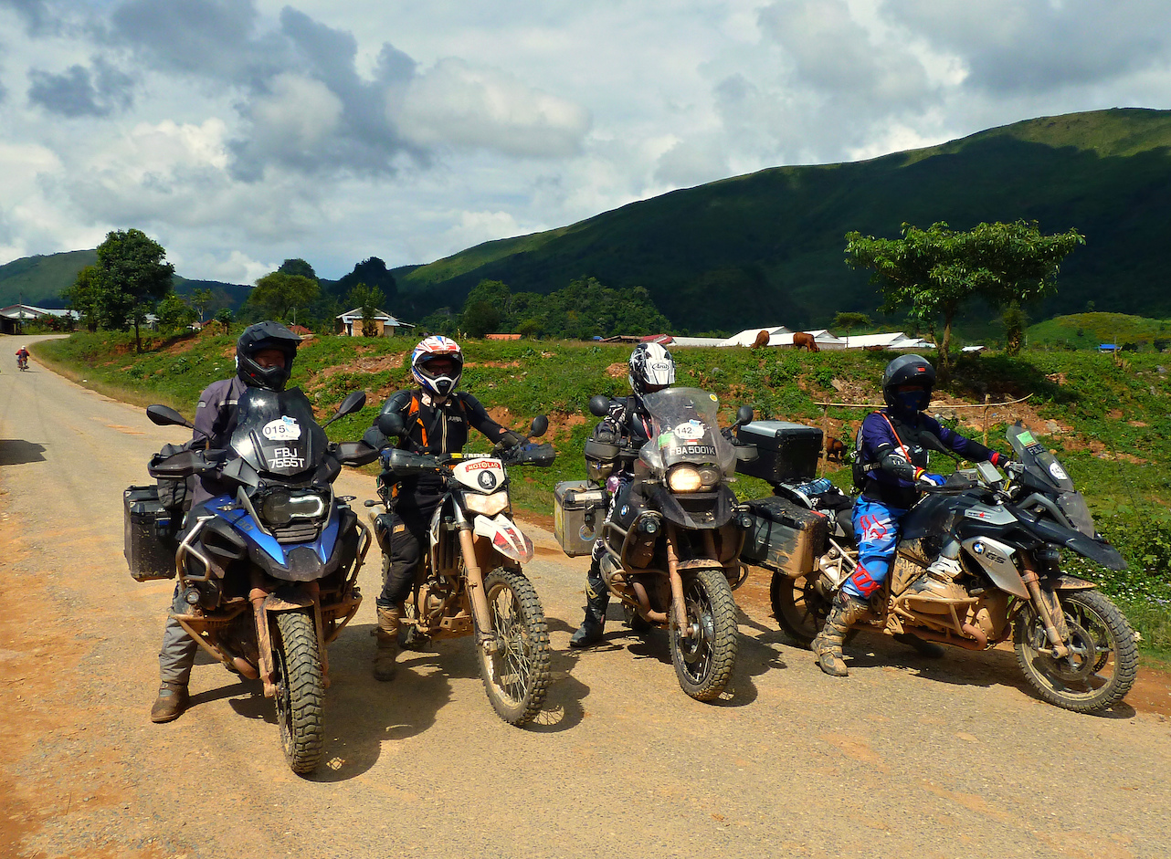 BMW Laos Motorcycle Long Cheng Tour