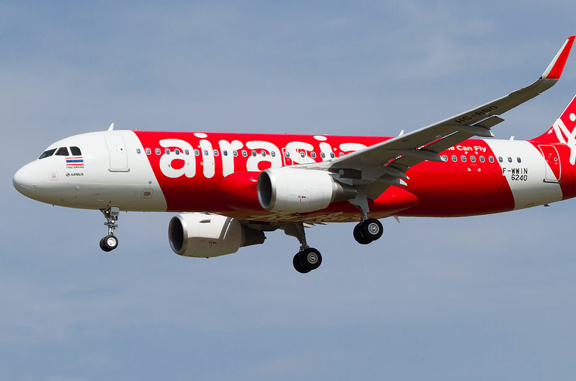 Air Asia into Luang Prabang A320