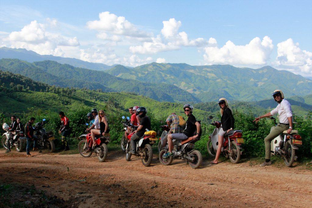 laos luang prabang gentlemans motorbike ride