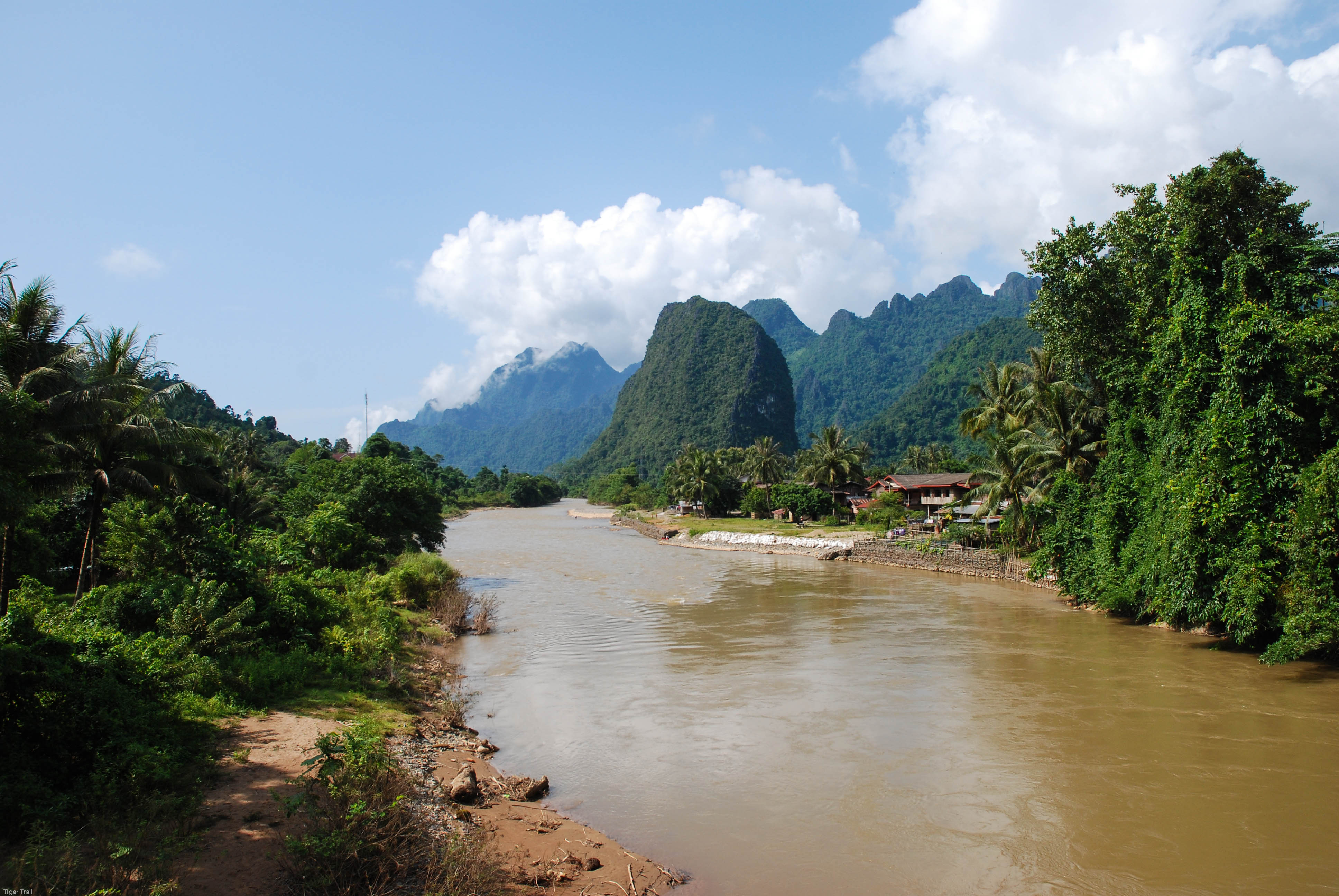 Vang Vieng, Laos with Tiger Trail