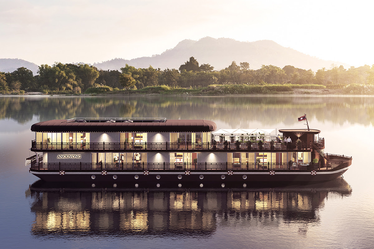 Heritage Line Boutique Cruise Ship Mekong Laos
