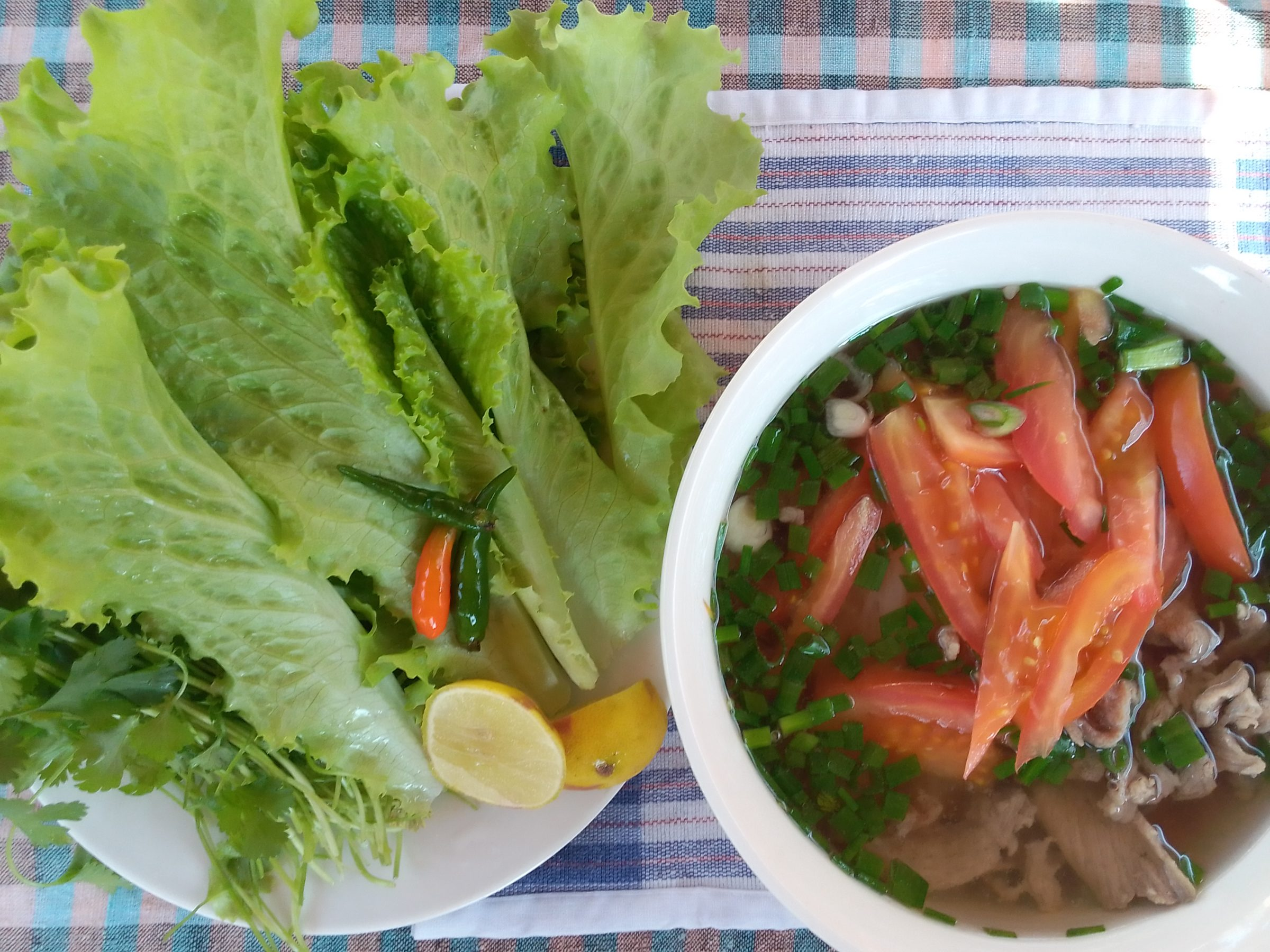 Noodle soup, Luang Prabang Deaf & Mute Community Training Centre