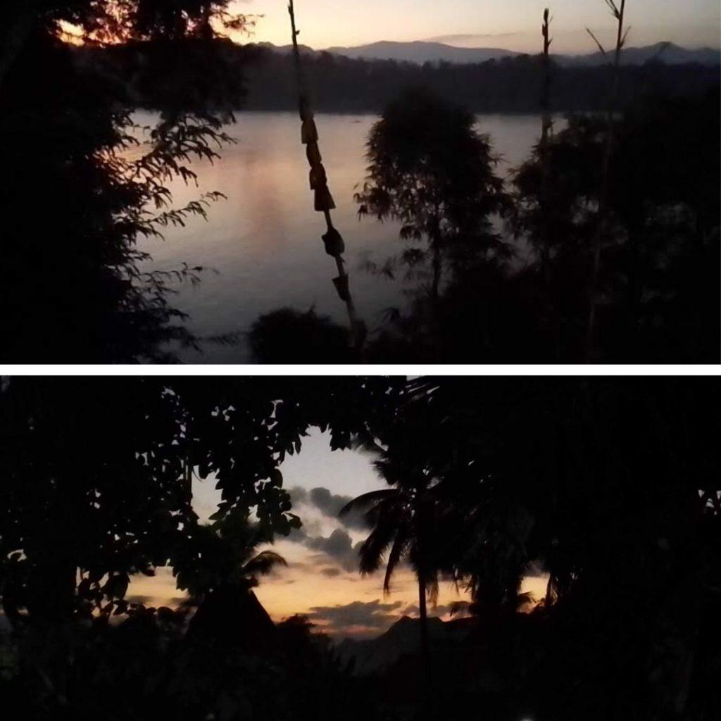 Mekong views & mountain views at the Kaysone Phomvihane Monument.