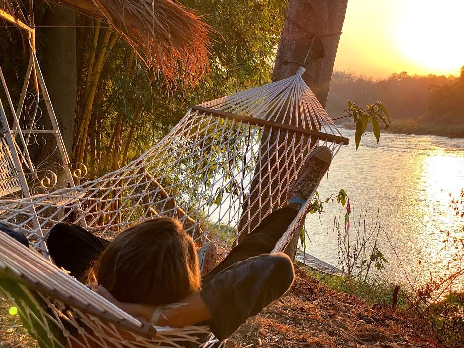 NamKhan Sunset hammock
